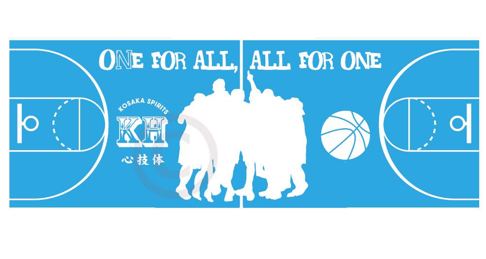 【sti-basketball001】バスケ01・インクジェットスポーツタオル(40×110cm)